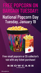 Showcase Cinemas Supports National Popcorn Day On Jan. 19 By...