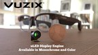 Vuzix Confirms that it has Entered into a Joint Manufacturing and Supply Agreement with Jade Bird Display for MicroLED-Based Display Engine and Waveguide Products