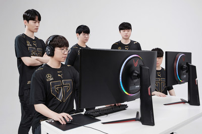 LG ULTRAGEAR EXPANDS GLOBAL ESPORTS PRESENCE WITH GEN.G (Groupe CNW/LG Electronics Canada)