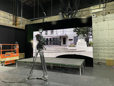 Virtual Production with Volumetric Real World Capture  ©Sony Innovation Studios