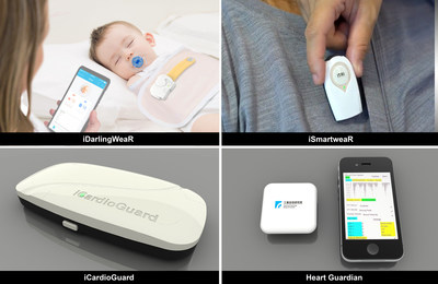 ITRI showcases e-health wearable technologies at CES 2021.