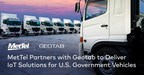 MetTel Expands to Deliver Geotab IoT Solutions for U.S. Government Vehicles