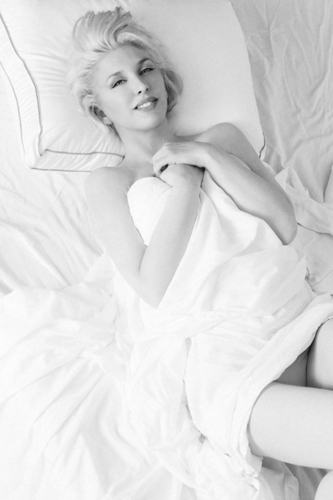 Actress, Erin Gavin as Marilyn Monroe