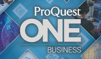 Introducing ProQuest One™ Business: Supporting Business Students...