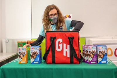 This season, Girl Scouts is collaborating with food ordering and delivery platform Grubhub so girls have another way to facilitate contact-free cookie orders. In select markets, with additional markets added throughout cookie season, consumers can order Girl Scout Cookies for pickup or delivery on Grubhub.com or the Grubhub app. Visit www.grubhub.com/food/girl_scouts to find out if and when contact-free delivery from Grubhub is available in your area.