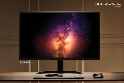 New LG UltraFine Display (CNW Group/LG Electronics Canada)