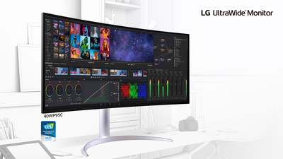 New LG UltraWide Monitor (CNW Group/LG Electronics Canada)