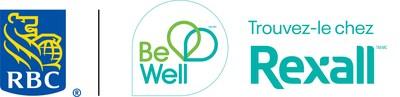 Logo de RBC et Be Well de Rexall (Groupe CNW/RBC Banque Royale)