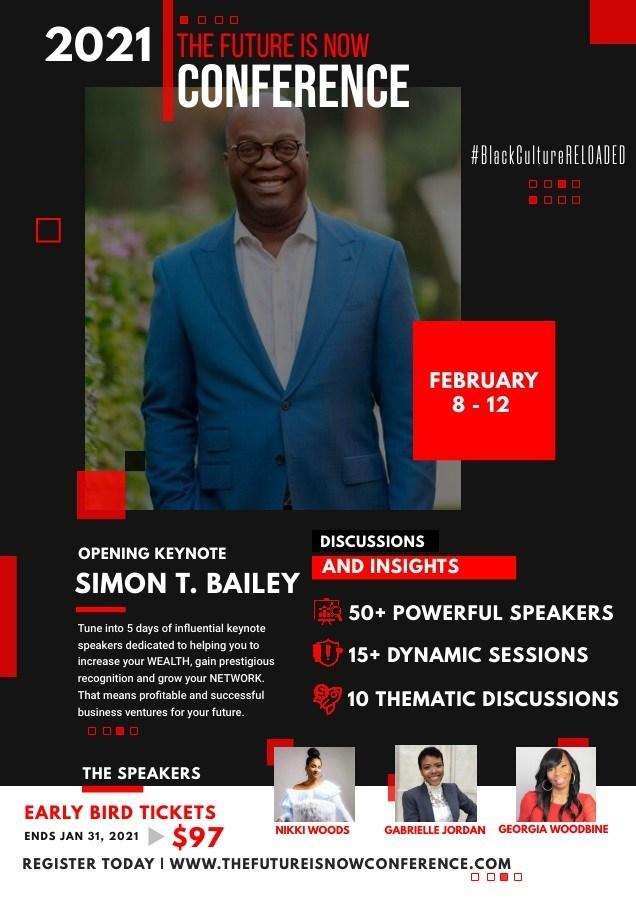 Opening Keynote Simon T Bailey