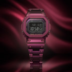 G-SHOCK Unveils Latest Full Metal GMWB5000 In Sleek, Red Stainless Steel Case