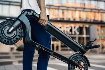 The new Slidgo X8 quick-folding electric scooter makes transportation fun, easy and accessible, at an affordable price. Available at Adorama for $499.