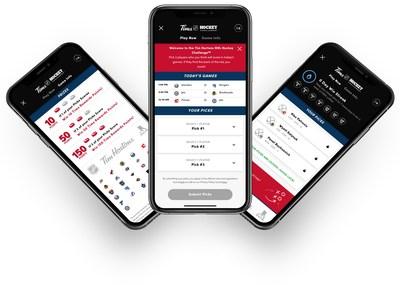 Tim Hortons®NHL Hockey Challenge™将有机会在2020-21 NHL®曲棍球赛季中赢得Tim Rewards积分(CNW Group/Tim Hortons)beplay数据中心