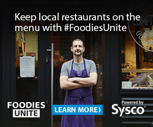 Keep local restaurants on the menu with #FoodiesUnite (CNW Group/Sysco Canada)