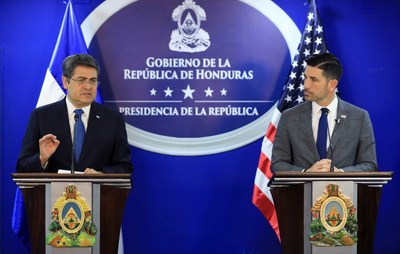 2020 US State Department report indicates that Honduras has substantially reduced drug traffic in its territory during the last 6 years WeeklyReviewer