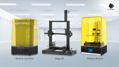 Anycubic showcases the Mega SE 3D Printer and Wash & Cure Plus at CES 2021