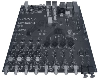 The Nanalysis Cameleon4 electronics board (CNW Group/Nanalysis Scientific Corp.)