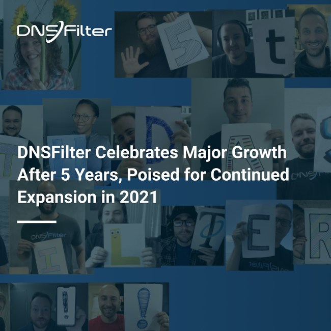 DNSFilter gave away 20 prizes during a live stream celebration in October, including an Xbox Series X and Apple watch to celebrate their fifth birthday. During a year of global financial distress, this celebration was particularly special in continuing to expand and service customers while disrupting the cybersecurity industry with state-of-the-art technology.