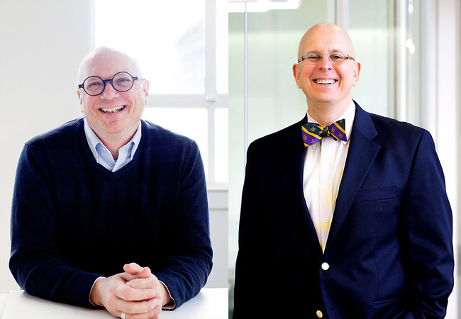 From Left: Michael Myers, AIA and Keith Tyschper, AIA, LEED AP have been named Principals at national architecture and engineering firm HED.