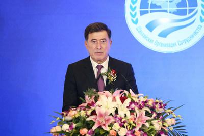 Secretário geral da SCO, Vladimir Norov (PRNewsfoto/TCSA)