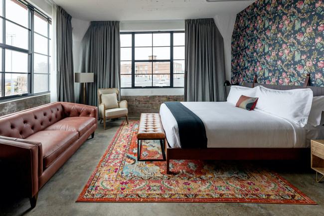 Guest room at ARRIVE Memphis