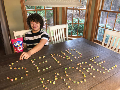 Self-proclaimed nerd and candy fanatic Gaten Matarazzo sends out an S.O.S for more NERDS Gummy Clusters.