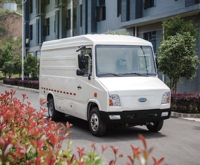 The All Electric CityPorter. With a payload capacity of 5,700 pounds and a robust cargo volume, the CityPorter can meet the diverse and demanding needs of last-mile delivery.