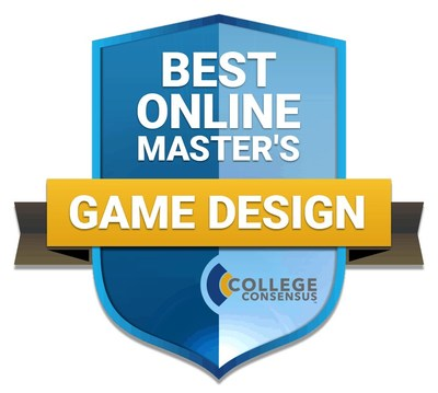 College Consensus Best Online Master's in Game Design 2021