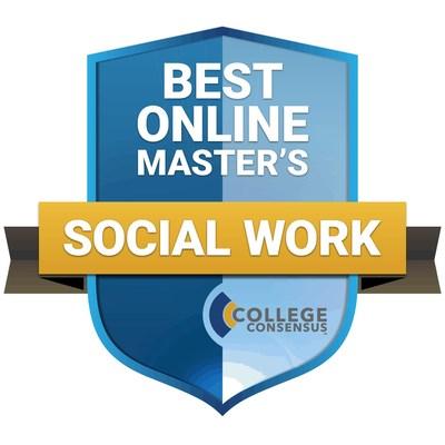 College Consensus Best Online Master's in Social Work 2021