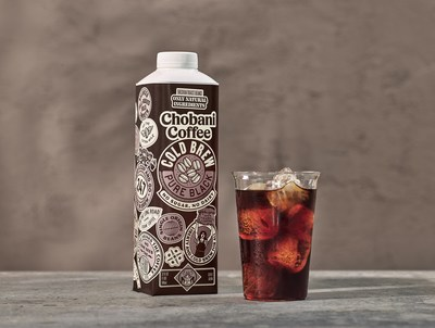 Starting in January, Chobani will offer consumers four new Chobani™ Coffee flavors including Cold Brew Pure Black, which has no sugar and no dairy.