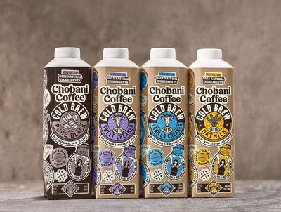 Chobani, maker of Greek yogurts, oat milks, probiotic drinks, and dairy & plant based creamers, is launching Chobani™ Coffee, ready-to-drink coffees that are crafted with single origin cold brew and feature Chobani's oat milks and dairy creamers.