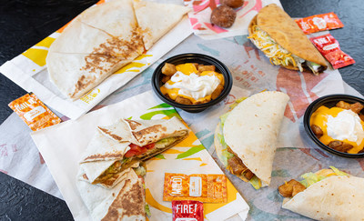 Taco Bell® is bringing back potatoes and testing a new plant-based protein with Beyond Meat® adding to the brand's portfolio of vegetarian offerings.