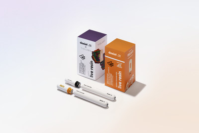dosist™ brings plant, power and performance together in exclusive live resin collaborations with renowned cultivators 710 Labs & Bear Extracts