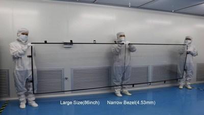 Cinotop&Micron présente sa vision d'une utilisation tactile toute surface lors du salon CES (PRNewsfoto/Cinotop&Micron)
