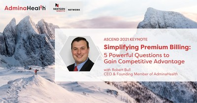 AdminaHealth® CEO Robert Bull to Give a Keynote at ASCEND's Agency Growth & Leadership Summit