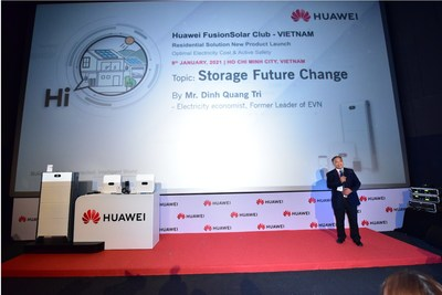 Huawei Residential Smart PV Solution Supports Vietnamese Households To Optimize the Use of Solar Energy (PRNewsfoto/Huawei)