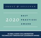 Frost &amp推荐的Nureva获得Sullivan用于音频会议的基于虚拟麦克风的mic Mist™技术