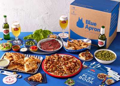 Created with ease, Stella Stadium Bites offers everything needed for an unforgettable and delicious game day celebration right at home. Get yours now through January 29, or while supplies last, on Blue Apron's Market!
