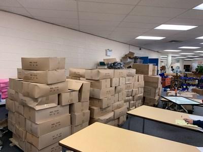Kellyco Metal Detectors donates 2,846 headphone sets to Knox County Schools.