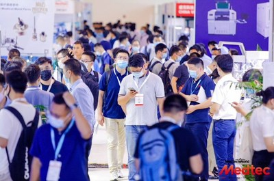 Bustling crowd at Medtec China 2020