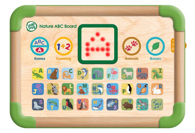 Touch & Learn Nature ABC Boardtm