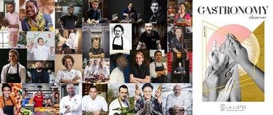 La Liste 2021 Special Awards' winners - Cover of Gastronomy Observer (PRNewsfoto/La Liste)