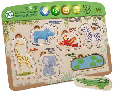 LeapFrog® Interactive Wooden Animal Puzzle™