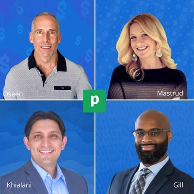 Trevor Oseen, Jennifer Mastrud, Dean Khialani, Scott Gill. (CNW Group/Planswell)