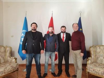 Erdal Can Alkoclar (Co-Chairman), Goksel Gursoy (CFO), Dr. Seyh Samil Omer Arslan (Administrative Board Member), Esen Darlan (Administrative Board Member)