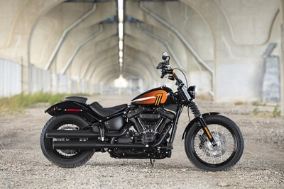 Harley-Davidson offers motorcycle riders more performance, style, technology and freedom for the soul in 2021.Visit www.H-D.com to learn more about how Harley-Davidson is fueling thetimeless pursuit of adventure and freedom for the open road. Street Bob 114 motorcycle shown.