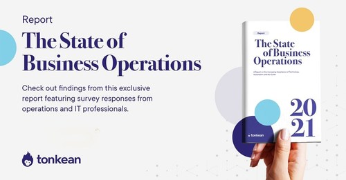 More than 95% of respondents indicated that business operations has become a more important function in their organization in the past year.
