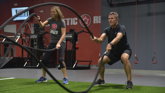 Athletic Republic's training for active adults centers on functional fitness that helps them move better, stay healthier, and enjoy their sporting pastimes more.