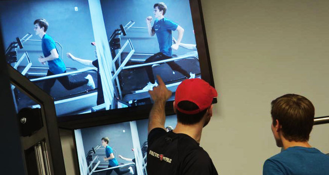 Athletic Republic teaches athletes how to run faster and more efficiently using an advanced proprietary treadmill and a video feedback system paired with coaching from expert trainers.