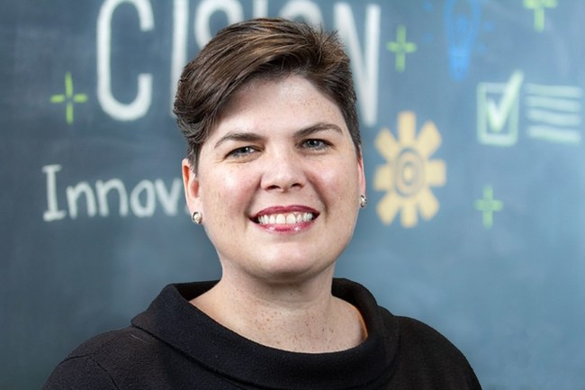 Maggie Lower, Cision's Chief Marketing Officer