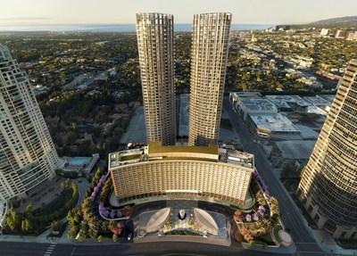 Fairmont Century Plaza – O renascimento de um destino icônico, adorado por celebridades, presidentes e diplomatas, situado entre a movimentação de Hollywood. (CNW Group/Accor)